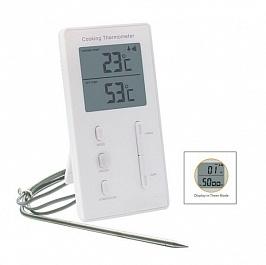 Термометр таймер с выносным щупом